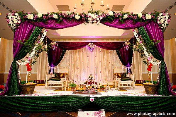 indian wedding mandap hindu ceremony http://maharaniweddings.com/gallery/photo/12728