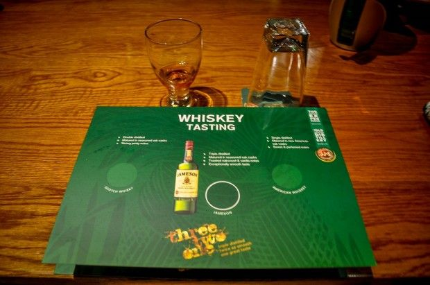 Jameson distillery tour in Ireland.