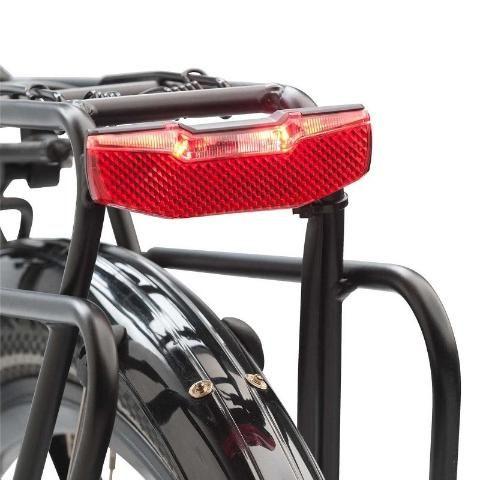 Lanterna Traseira Dínamo Bicicleta Axa Blueline Led