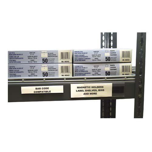 Kitchen Shelf Labels: C-line Label Holder For Magnetic Shelf/Bin, 6 By 1/2-Inch, Clear By C-Line. $9.07. Magnetic