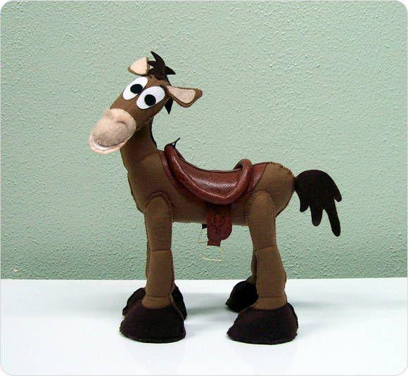 Cavalo Bala no Alvo - Kit Toy Story | Nina e Mone | 332D1F - Elo7