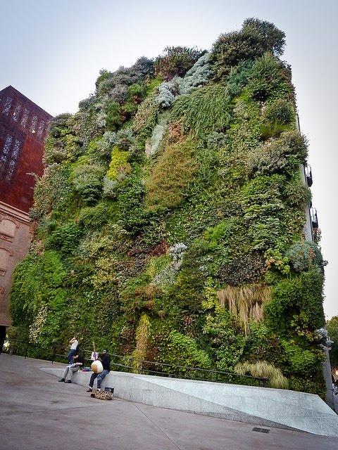 Madrid: Vertical Garden, Caixa Forum.Love-Spain