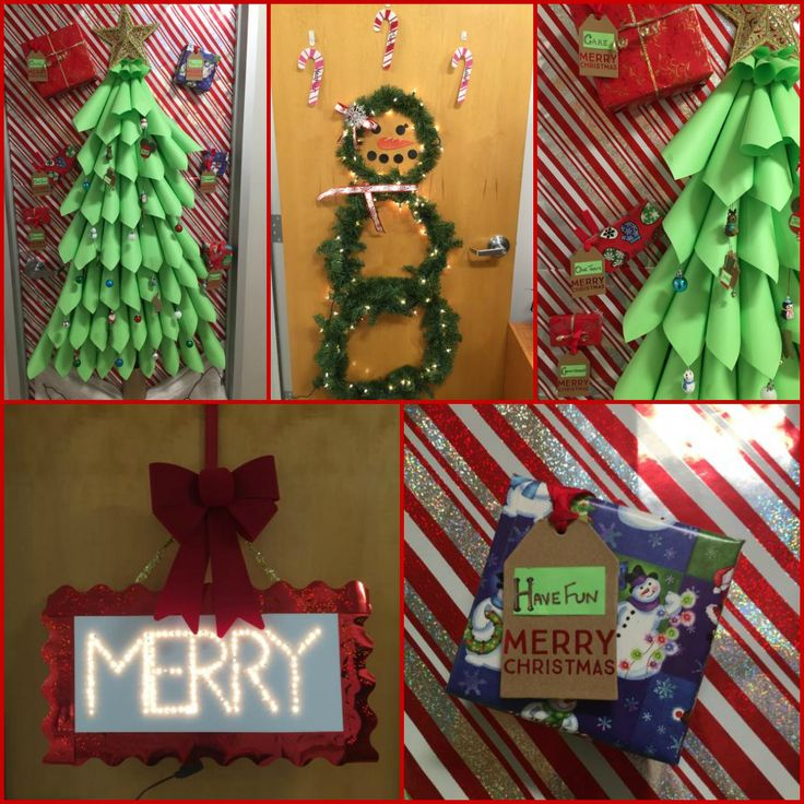 With the #holidays in full swing last week, Laser Spine Institute teammates in #StLouis held a door #decorating contest. Congratulations to the Mid-level Practitioner Team that won!