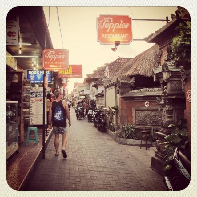 Poppies lane way Bali