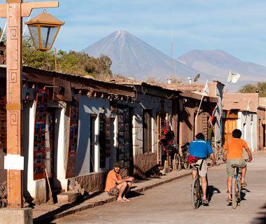 San Pedro de Adacama, Chile (Travel & Leisure's list of the World's prettiest mountain towns)