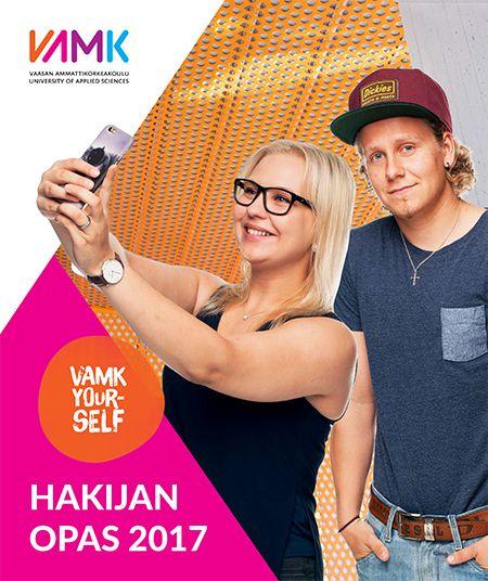 VAMK Hakijan opas 2017 - education brochure (in Finnish)