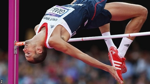 Robbie Grabarz wins bronze for Team GB  in the High Jump #London2012