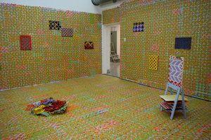 """Beyond Peripheral"" installation view"