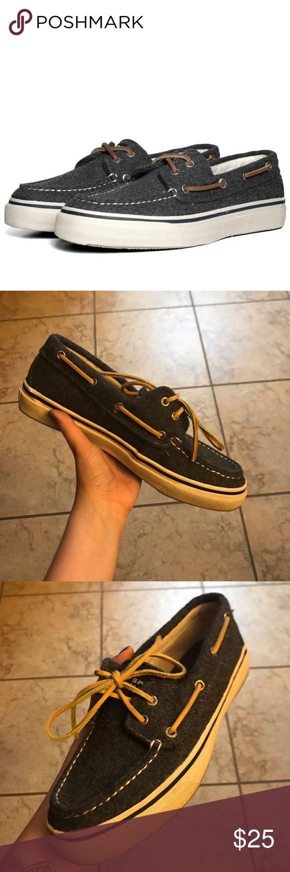 Sperry Men's Boat Shoes Sperry Men's Boat Shoes / Color: Grey Sperry Top-Sider Shoes Boat Shoes