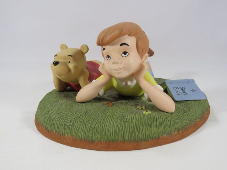 "Pooh and Friends ""What I like best is just being with you"" Figurine Disney JH #Disney"