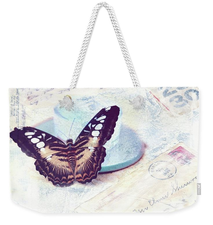 Jenny Rainbow Fine Art Photography Weekender Tote Bag featuring the photograph Morning Messenger by Jenny Rainbow