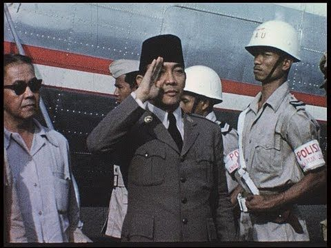 Indonesia, the nation under President Sukarno in 1955