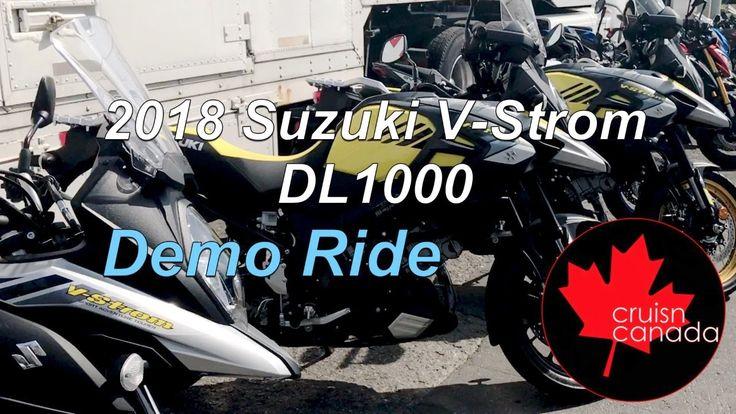 2018 Suzuki V-Strom DL1000 Demo Ride