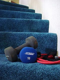 Workout to do at home....its not like my personal trainer workouts, but looks ok