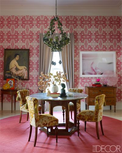Dining Rooms From Elle Decor: 197 Best Dining Rooms Images On Pinterest