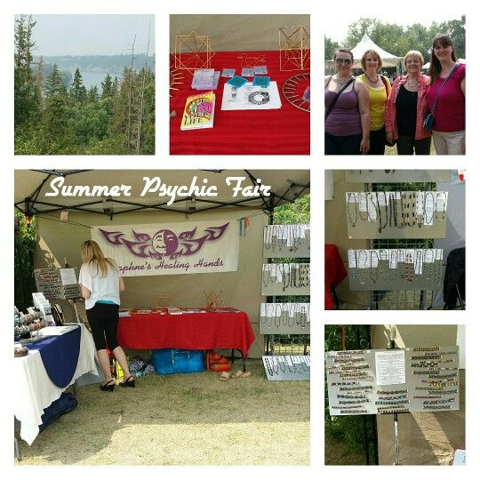 Grateful  for  the  amazing  day spent at The Summer Psychic Fair !