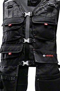 Bosch Professional Bosch WHV 09 Professional Tool Vest Black No description (Barcode EAN = 3165140625692). http://www.comparestoreprices.co.uk/latest2/bosch-professional-bosch-whv-09-professional-tool-vest-black.asp