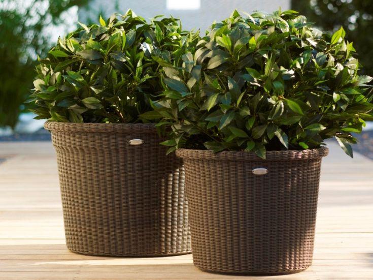 Planters Botnic / Wyplatane donice ogrodowe