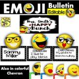 Emoji Hallway display Bulletin- Back to School