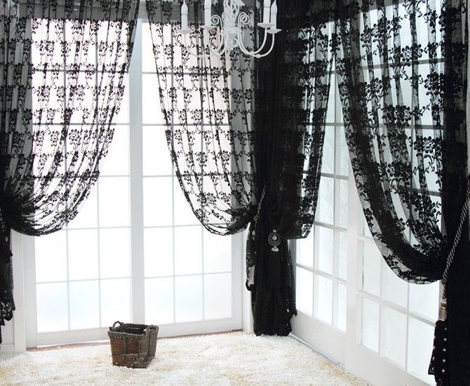 Curtains Ideas black window curtain : 630 best ideas about {Curtains.Drapes & Tassels} on Pinterest ...