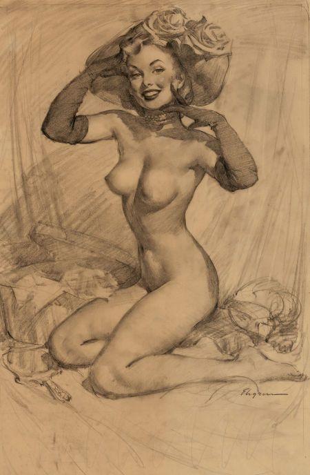 Nude exploit pin up art