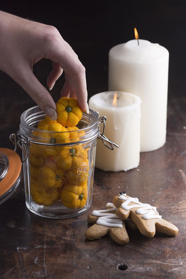 Stylish and practical, a Kilner jar is perfect for your Halloween party #halloween #Kilner