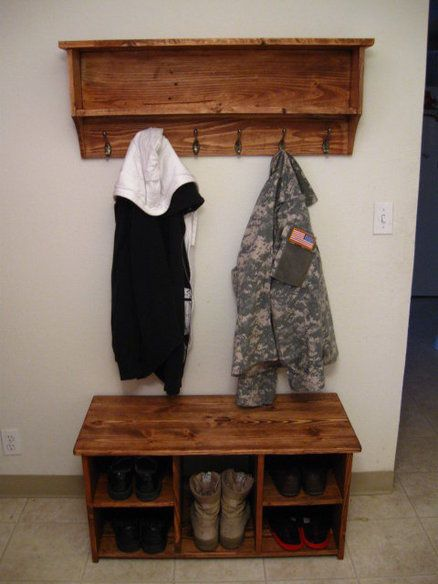 1000 ideas about entryway bench coat rack on pinterest bench coats door hall trees and hall. Black Bedroom Furniture Sets. Home Design Ideas