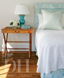 Bedroom  Coastal  Transitional by Design House