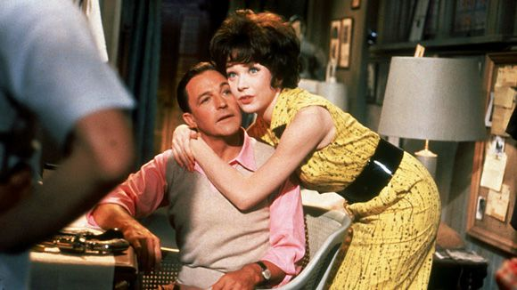 "Gene Kelly, Shirley MacLaine in ""What A Way To Go"" (J. Lee ...Shirley Maclaine What A Way To Go"