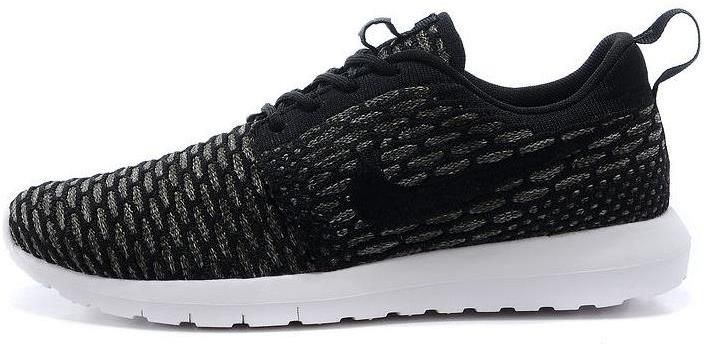 huge discount 35c57 f7bd2 ... norway 2015 latest nike roshe run knit mens shoes discount online black  gray 4733b bb79a