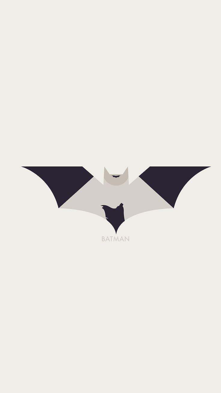 Art Batman Minimal Logo Illust iPhone 6 wallpaper