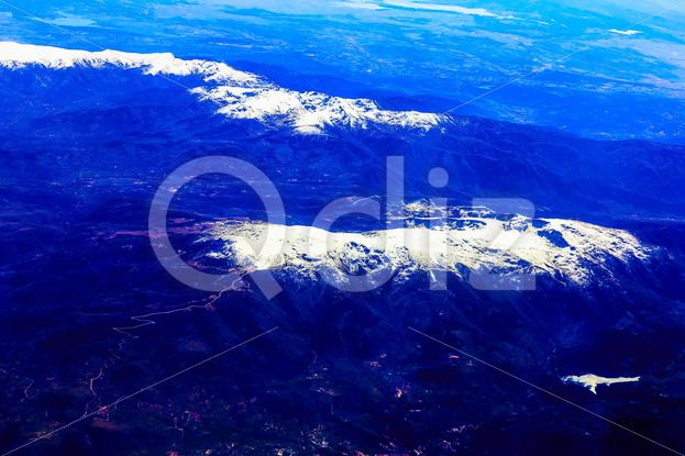 Qdiz Stock Photos Rocky Mountain Aerial View,  #above #aerial #air #altitude #background #blue #cloud #color #day #flight #fly #high #mountain #nature #over #peak #rocky #scenic #sky #snow #top #Travel #view #white #winter