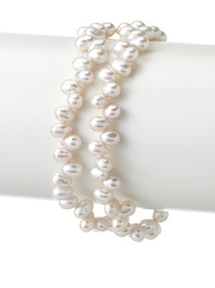 65% OFF Radiance Pearl 4mm White Rice Freshwater Pearl Bracelet