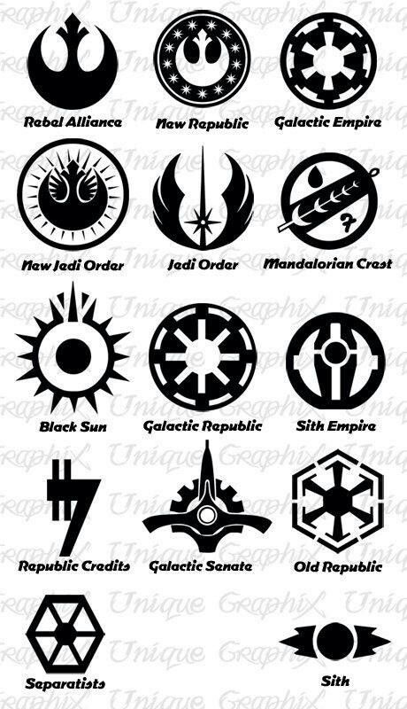 Star Wars Insignias