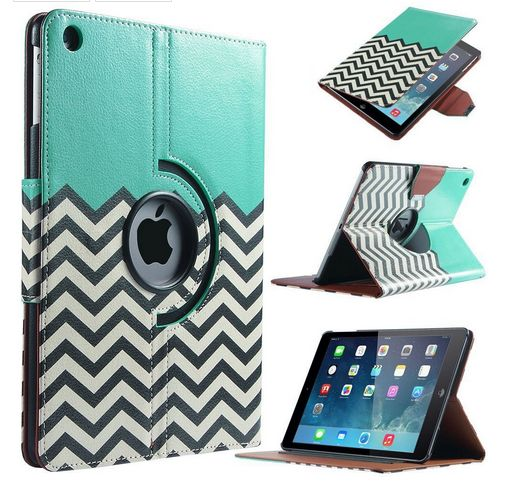 Ipad Air 1 2 Cases For Girls Cute 360 Degree Rotating Cases For Aplle Ipad AIR 1 2 ipad 234 mini 123 Cover