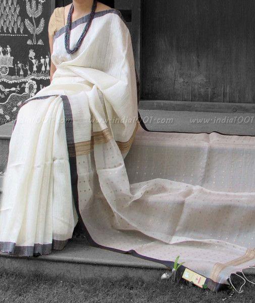 Elegant & Fine Eri (Ahimsa) Silk Saree