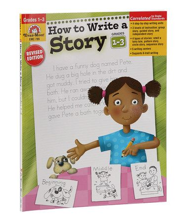 Look what I found on #zulily! Grades 1-3 How to Write a Story Workbook #zulilyfinds