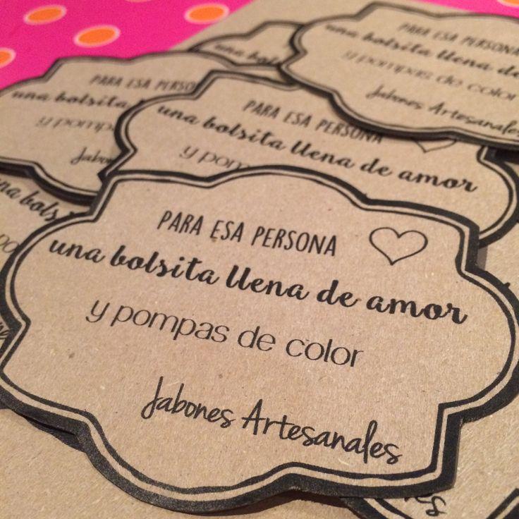 El regalo perfecto para la persona perfecta! Jabones artesanales hechos con amor para alegrar la hora del baño! / The perfect present for the perfect person! Handmade Soaps made with love!   100% Colombiano
