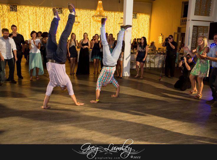 Wedding dance floor at Ashanti Wine Farm