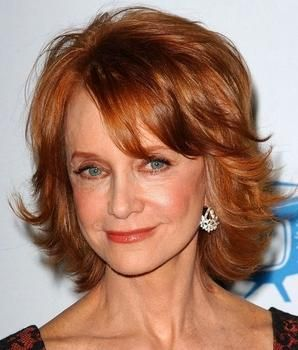 Swoosie Kurtz Layered Hairstyles1 Hair Makeup And Other Beauty Tricks Pinterest Layer