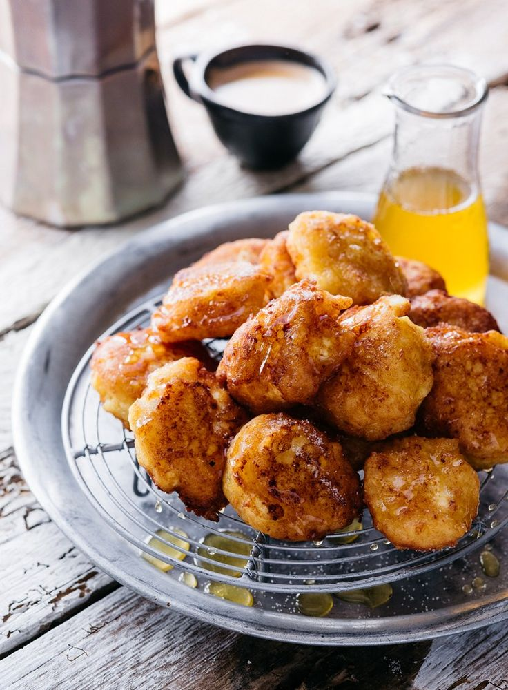 Easy to put together and very quick to cook, these light, moreish fritters could soon become a family favourite.
