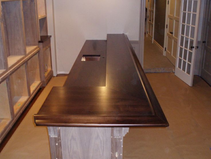 Bar Top Finishing : Best images about wood bar tops on pinterest wide