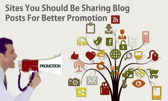 How To Promote Your Blog Posts Learn Blog Promotion Strategies - How to promote new blog posts? Consider these places for sharing blog posts after publishing to promote and to generate massive organic social media traffic & also increase Facebook, Twitter share by using these new marketing, promotion sites.