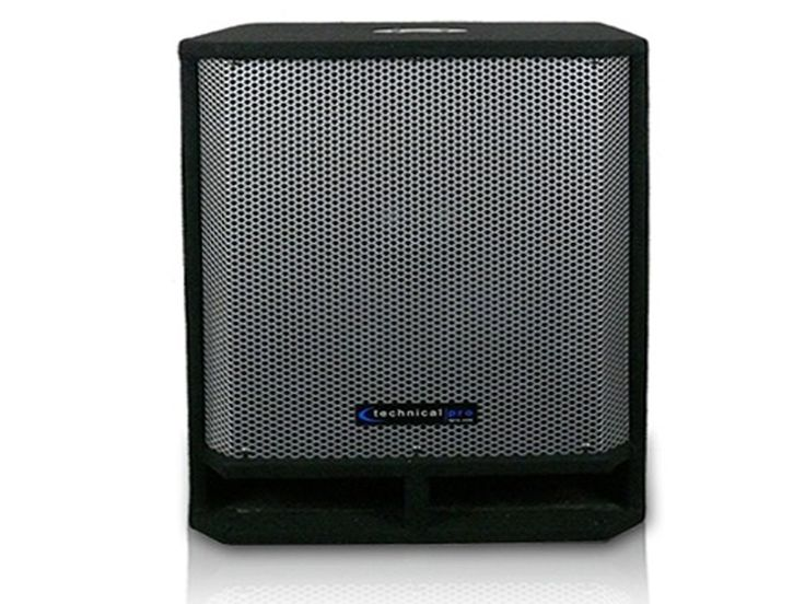 """Carpeted 15"""" Passive Subwoofer"""
