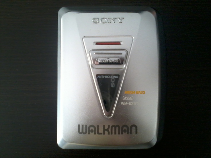Cassette Player - Sony WM-EX170 / Production Year: 1998