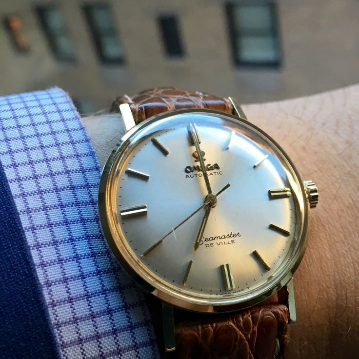 Vintage OMEGA Seamaster Deville Automatic Circa 1960s - https://omegaforums.net Omega Seamaster De Ville Vintage Menswear Mensfashion Wristshot Womw Wruw Horology Classic Timeless Watches Watchporn Fashon Montres Uhren Orologio Seamasterdeville Calibre552 Cal552