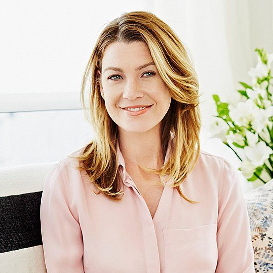 BAR CART in second photo - Step Inside Ellen Pompeo's Ultraluxe Grey's Anatomy Trailer