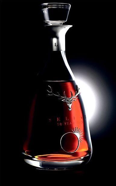 Dalmore Whisky Selene Single Malt 1951 58 Year Old Highland Scotch