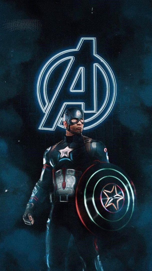 Captain America The Oldest Avenger Iphone Wallpaper Captain