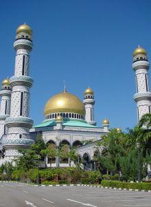 ジャメ・アサール・ハサナル・ボルキア・モスク。ブルネイ 旅行・観光の見所!